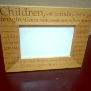 Other - Family inspirational quote wooden frame